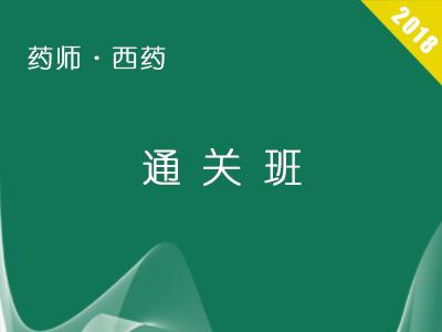 2017执业西药师通关班